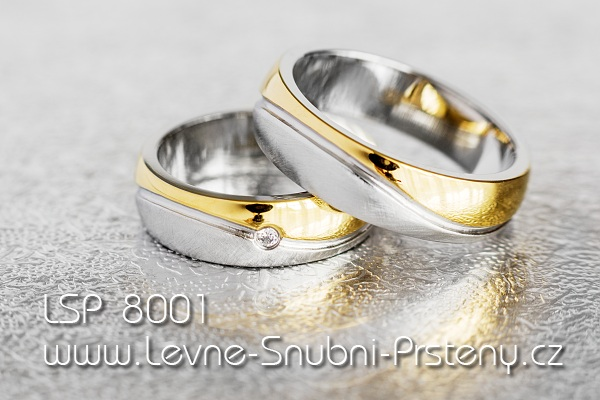 Stainless Steel Wedding Rings Lsp 8001