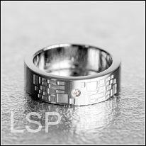 Snubní prsteny LSP 8002 chirurgická ocel