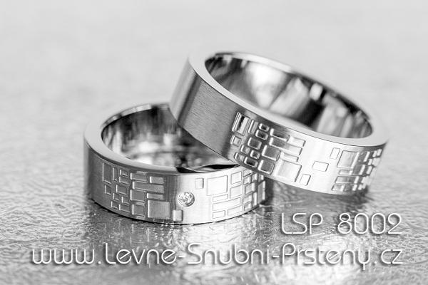 Snubni Prsteny Chirurgicka Ocel Lsp 8002