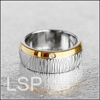 Snubní prsteny LSP 8003 chirurgická ocel
