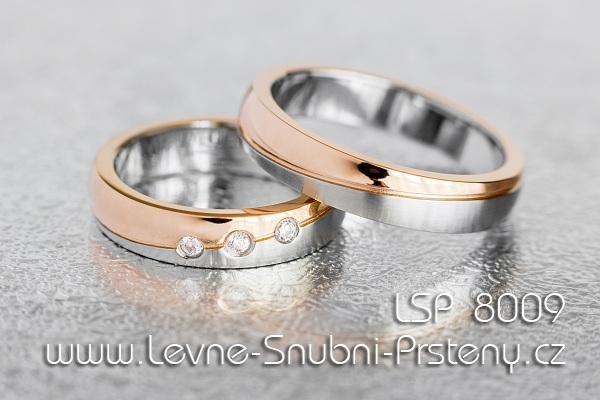 18c49785c Snubní prsteny chirurgická ocel LSP 8009