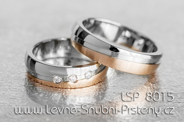 Stainless Steel Wedding Rings Lsp 8015