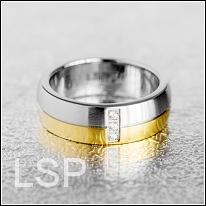 Snubní prsteny LSP 8017 chirurgická ocel