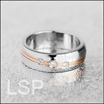 Snubní prsteny LSP 8021 chirurgická ocel