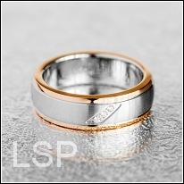 Snubní prsteny LSP 8023 chirurgická ocel