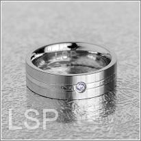 Snubní prsteny LSP 8030 chirurgická ocel