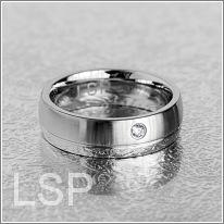 Snubní prstýnky chirurgická ocel LSP 8035