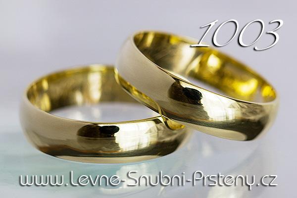 Snubní prsteny LSP 1003 žluté zlato