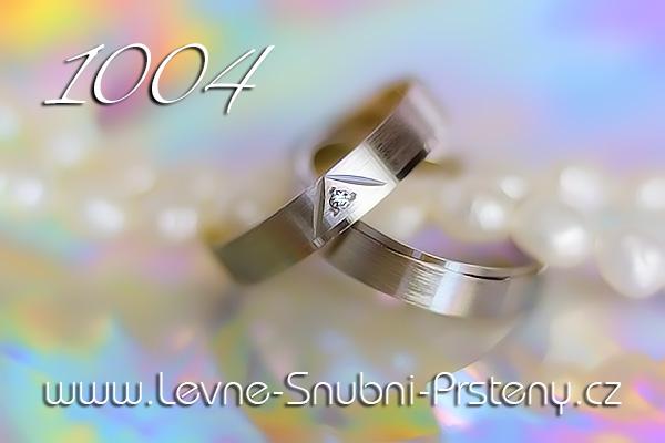 Snubní prsteny LSP 1004bz