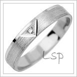 Snubní prsteny LSP 1004b