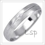 Snubní prsteny LSP 1007bz