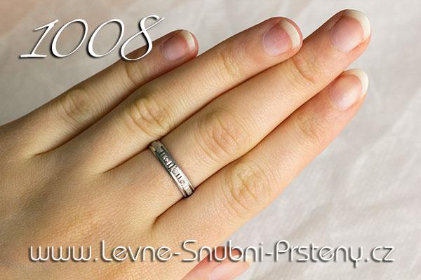 Snubní prsteny 1008bz