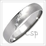 Snubní prsteny LSP 1012b