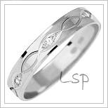 Snubní prsteny LSP 1018bz