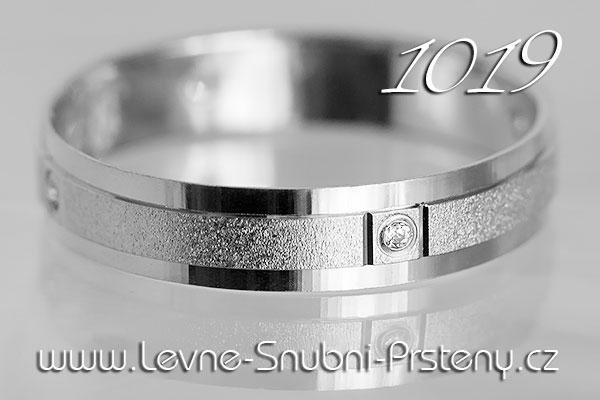 Snubní prsteny LSP 1019bz bílé zlato