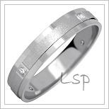 Snubní prsteny LSP 1019bz