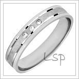 Snubní prsteny LSP 1021bz