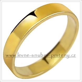 Snubní prsteny LSP 1029 žluté zlato