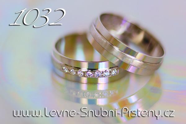 Snubní prsteny LSP 1032bz bílé zlato
