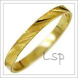 Snubní prsteny LSP 1033 žluté zlato