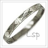 Snubní prsteny LSP 1035b bílé zlato
