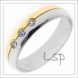 Snubní prsteny LSP 1053