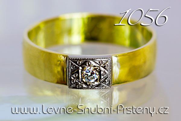 Snubní prsteny LSP 1056 žluté zlato