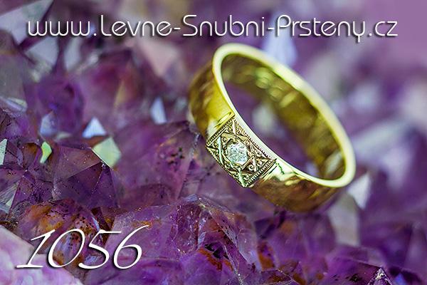 Snubní prsteny LSP 1056 kombinované zlato