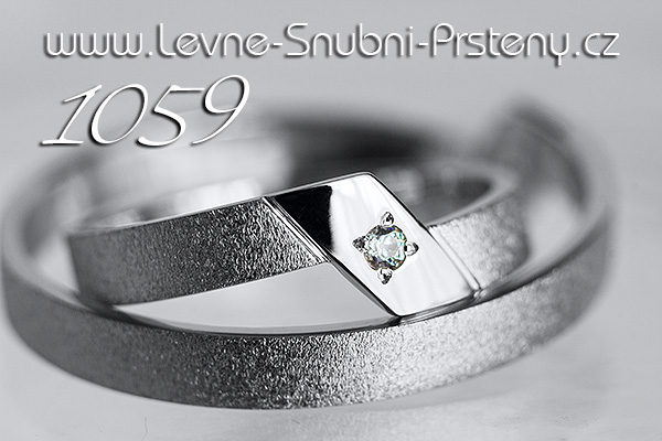 Snubní prsteny LSP 1059 zlato