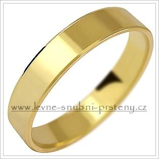 Snubní prsteny LSP 1062 žluté zlato