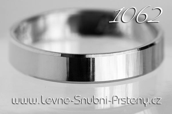 Snubní prsteny LSP 1062b bílé zlato