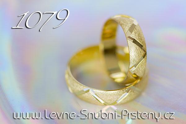 Snubní prsteny LSP 1079 žluté zlato