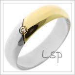 Snubní prsteny LSP 1087