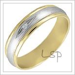 Snubní prsteny LSP 1092