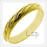 Snubní prsteny LSP 1095