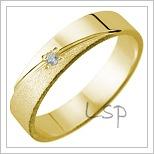 Snubní prsteny LSP 1096