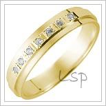 Snubní prsteny LSP 1102