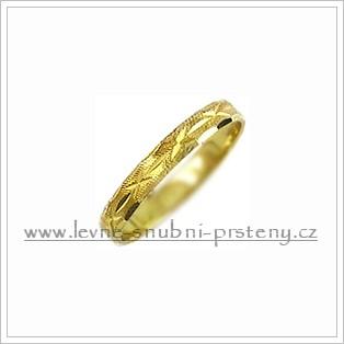 Snubní prsteny LSP 1110 žluté zlato