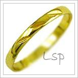 Snubní prsteny LSP 1117 žluté zlato