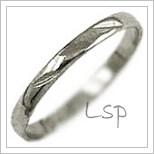 Snubní prsteny LSP 1117b bílé zlato