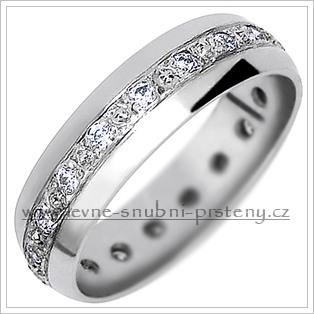Snubní prsteny  LSP 1120bz bílé zlato
