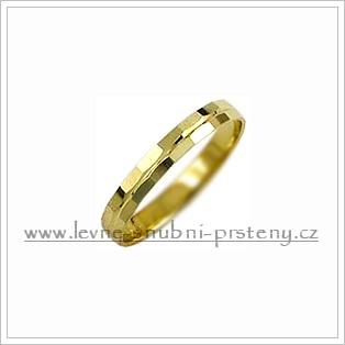 Snubní prsteny LSP 1123 žluté zlato