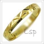 Snubní prsteny LSP 1126 žluté zlato