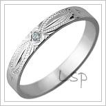 Snubní prsteny LSP 1131
