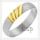 Snubní prsteny LSP 1134