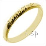 Snubní prsteny LSP 1136
