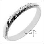 Snubní prsteny LSP 1136b
