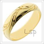 Snubní prsteny LSP 1140