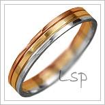 Snubní prsteny LSP 1143