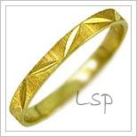 Snubní prsteny LSP 1158 žluté zlato